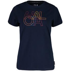 Maloja DuriettaM. - Camisetas Mujer - azul